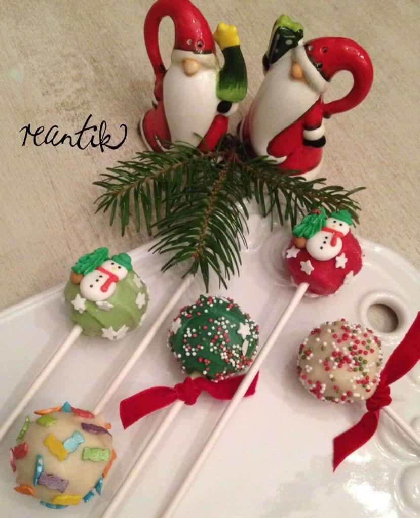 karácsonyi cake-pop