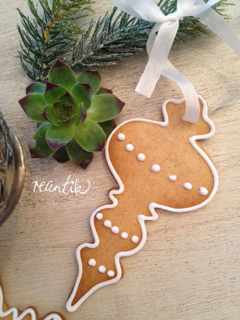 karácsonyfadísz - mézes finomság